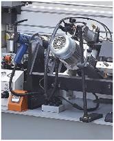 Кромкооблицовочный станок FL-6000RS, узел подготовки и приклеивания кромочного материала