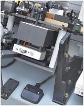 Кромкооблицовочный станок FL-6000RS, двойной узел нанесения клея на торец детали