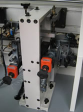 Кромкооблицовочный станок FL-6000RS, циклевочный узел