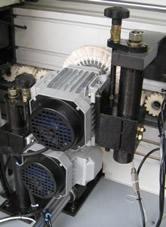 Кромкооблицовочный станок FL-6000RS, полировальный узел