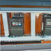 Кромкооблицовочный станок FL-6000RS, электронные компоненты