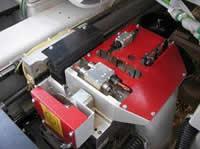 Сверлильно-присадочный станок с ЧПУ CNC 1000, конфигурация сверлильной группы станка